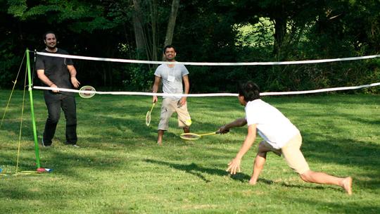badminton essay hindi